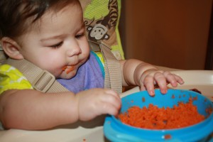 Eating Carrots