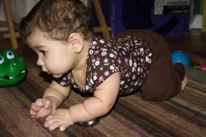 Coraline crawling