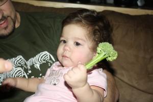 Mmm ... broccoli