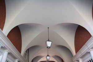 Courthouse arches