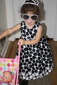 Princess Coraline & stroller