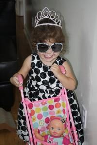 Princess Coraline smiling