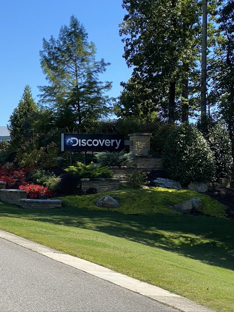 Discovery sign
